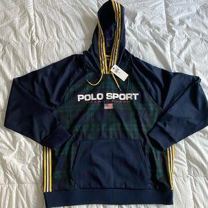 Ralph Lauren Polo Sport Tartan Plaid Hoodie - NEW
